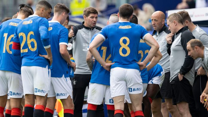 Steven Gerrard: Rangers manager criticized his team after their pre-season loss to Tranmere.  football news