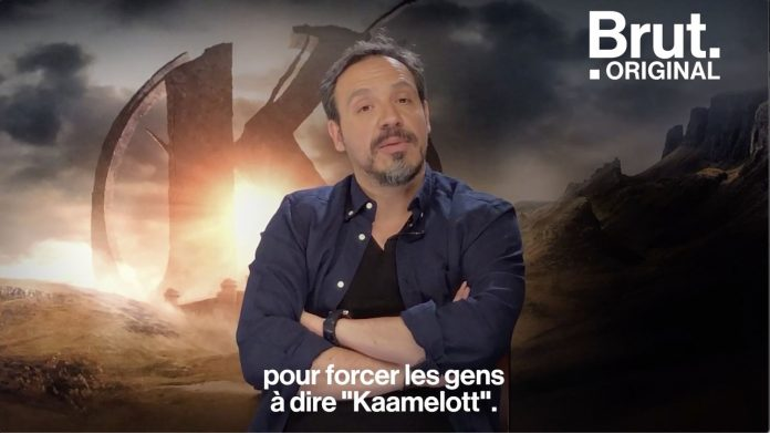 Video.  Alexandre Astier Kaamelott.  tells the whole truth about