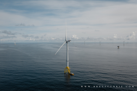 Moray East Offshore Windfarm, Scotland, United Kingdom.  Willicom selects Mavenir to deliver the UK's first off-shore open RAN based VRAN private network for windfarm connectivity.  (Photo: Business Wire)