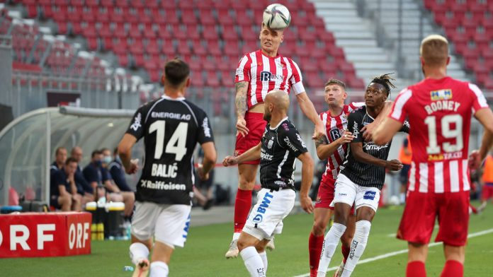 Conference League: LASK draw in first leg against St Johnstone