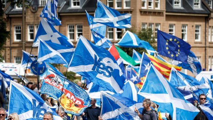 European Scotland would like to be able to live in Erasmus, but it is not possible for Brussels