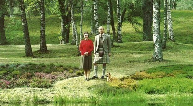 First time without Prince Philip