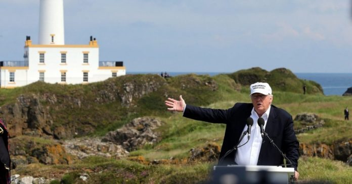 In Scotland, a lawsuit finds skeletons in the cupboards of Donald Trump's golf clubs