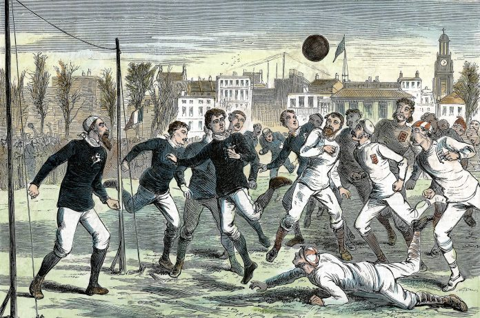 Scotland's first captain as a pioneer in football