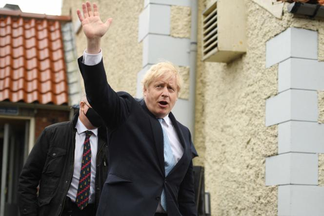 Boris Johnson was in Hartlepool on Friday 7 May to celebrate the victory of the Conservative candidate.