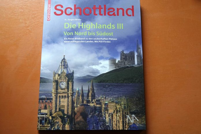 Book Tip: Scotland - The Highlands III.  From North to South-East??