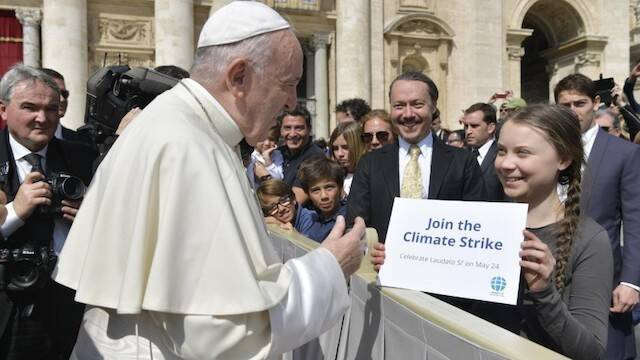 Francis will not chair an official group on his trip to Scotland for the climate summit
