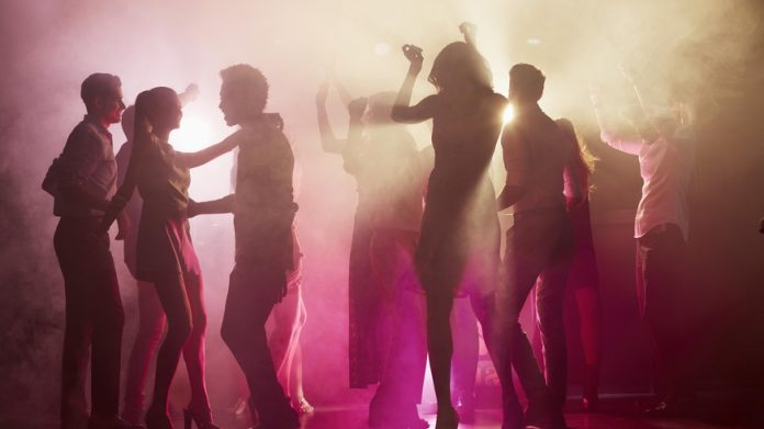 Club Scotland converts the energy generated by dancing into electricity - and thus CO2 .  saves