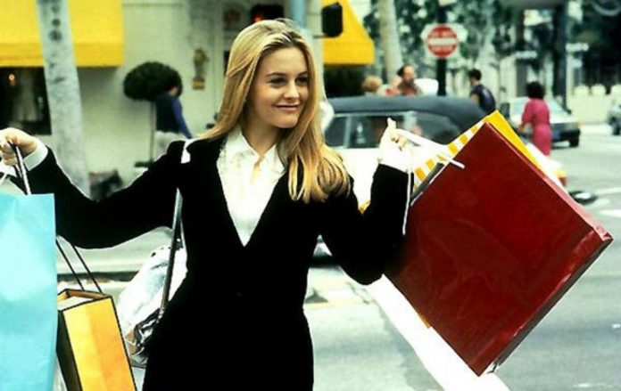 Alicia Silverstone replays this mythical scene from