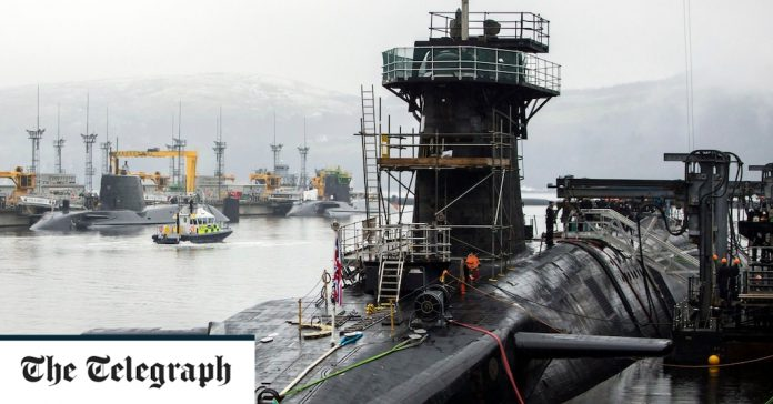 Britain could take nuclear submarines to France if Scotland backs independence