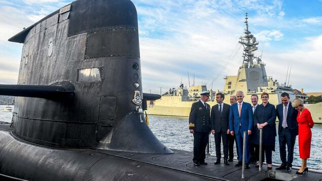 Controversy over submarine: French company wants to send bill to Australia for stalled business