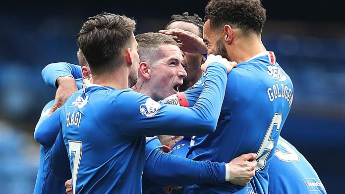 Glasgow Rangers champion Scotland 10 years after their last title