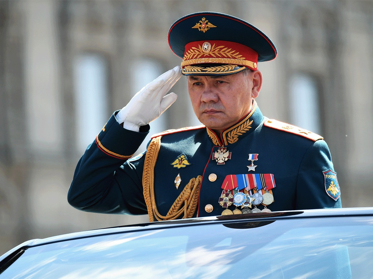 Is Russia's defense chief emerging as a possible successor to Putin?