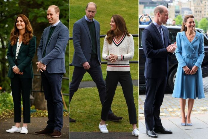 Kate and William, photos from their last day in Scotland