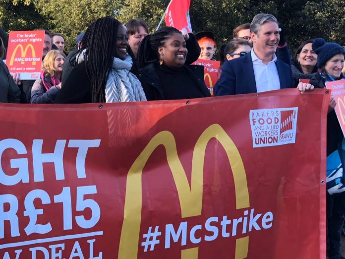 Keir Starmer accused of hypocrisy after backing £15 minimum wage