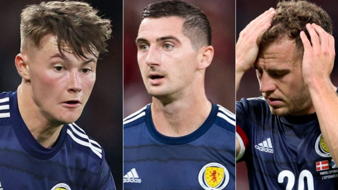 Nathan Patterson, Ryan Fraser and Kenny McLean withdrew from Scotland's squad for World Cup qualifying in Austria.  football news