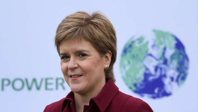 Scottish Prime Minister Sturgeon calls alliance with Greens a