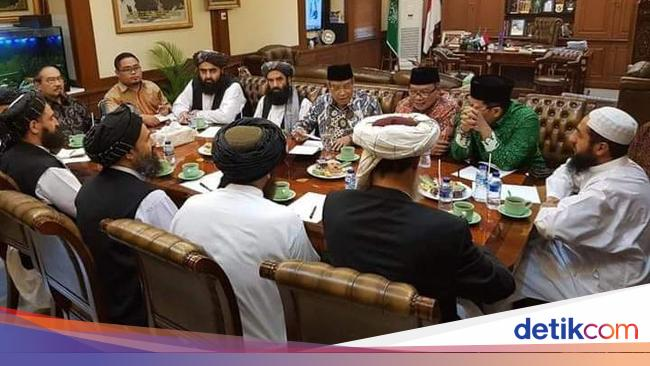 Talking about women's rights, the president of PBNU was scolded by Taliban