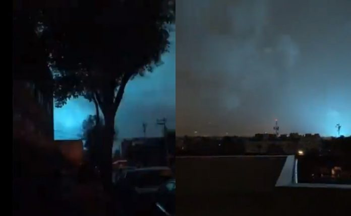 This is why the lights were seen in CDMX during the 7.1 earthquake