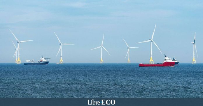 TotalEnergies joins forces in a big wind project along the Scottish coast