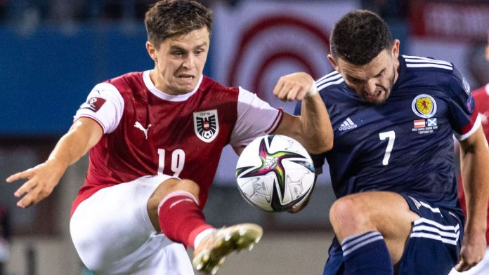 Grade!  Austria's personal criticism against Scotland in World Cup qualification - Soccer - FB National Team