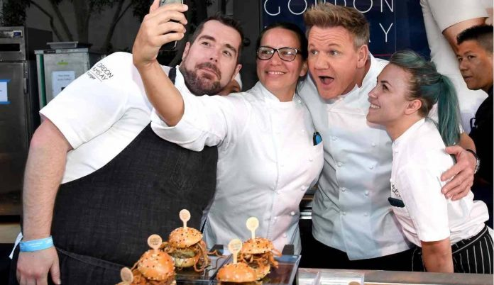 The Distinction of an Italian Excellence: Storming on Gordon Ramsay