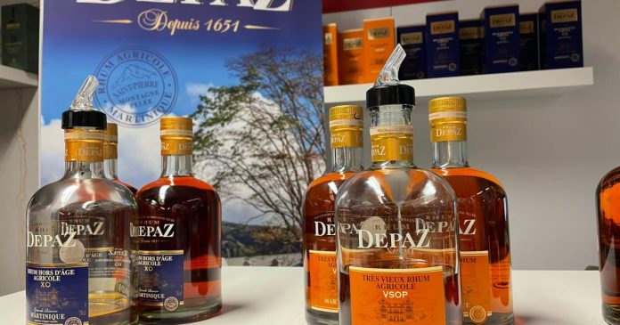 Depais rums shine at the Whiskey Show in London