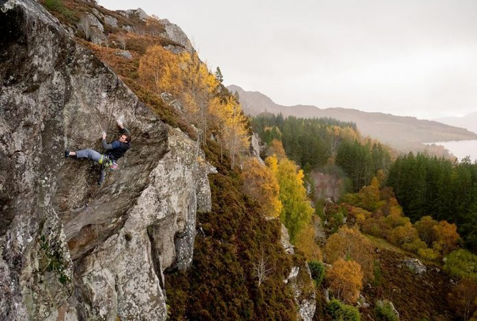 Robbie Phillips and Dave McLeod embark on a new E10 trade in Duntelchag, Scotland