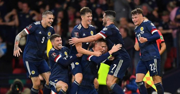 Second place course: Scotland beat Israel in the last minute