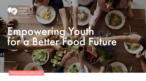 Youth ideas for new agri-food systems at the World Food Forum, Rome